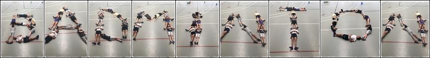 Badminton con letras campus