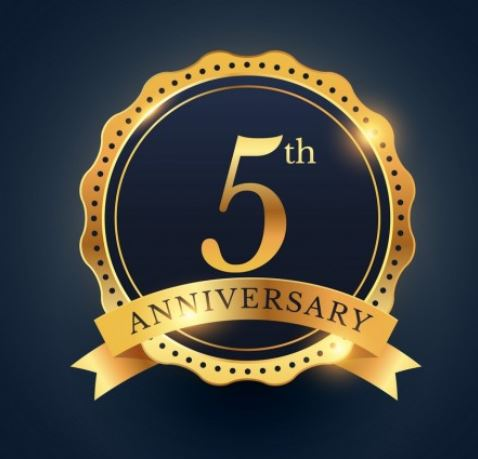5 aniversario