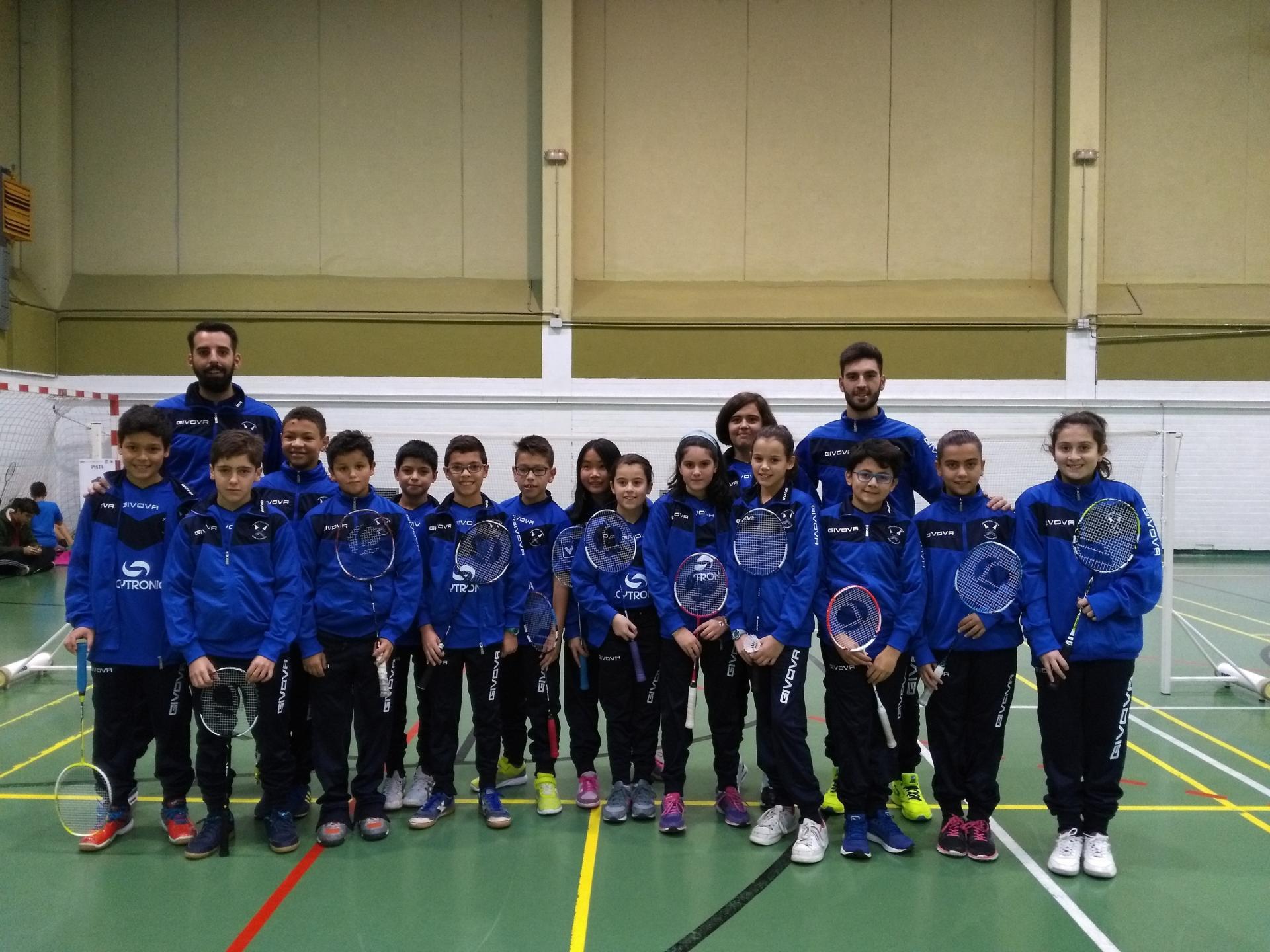 C.D. Badminton Laguna Infantil + Alevín